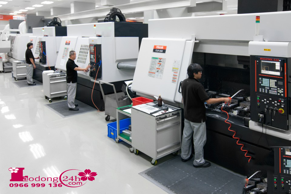 tuyển 03 kỹ sư cơ khí vận hành máy CNC
