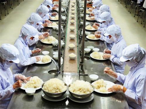 Tuyển lao động làm cơm hộp tại Nhật Bản