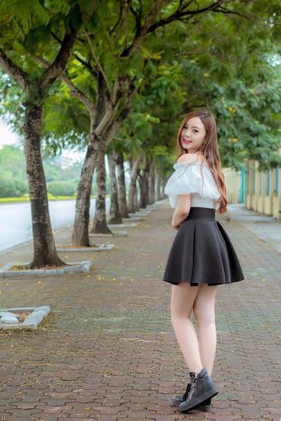 Nguyễn Thị Quỳnh với khuôn mặt khả ái thu hút khán giả