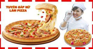 xuất khẩu lao động làm Pizza tại Nhật